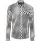 Schöffel Miesbach1 - T-shirt manches longues Homme - bleu/blanc